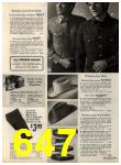 1972 Sears Fall Winter Catalog, Page 647