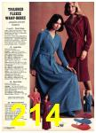 1976 Sears Fall Winter Catalog, Page 214