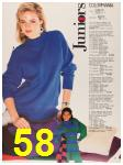 1987 Sears Fall Winter Catalog, Page 58
