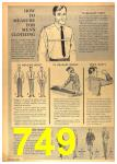 1964 Sears Spring Summer Catalog, Page 749
