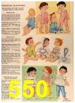 1964 Sears Spring Summer Catalog, Page 550