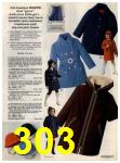 1972 Sears Fall Winter Catalog, Page 303
