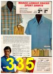 1972 Montgomery Ward Spring Summer Catalog, Page 335