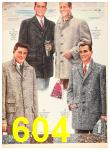 1956 Sears Fall Winter Catalog, Page 604
