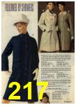 1968 Sears Fall Winter Catalog, Page 217