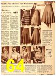 1940 Sears Fall Winter Catalog, Page 64