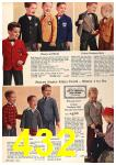 1960 Sears Fall Winter Catalog, Page 432