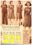1942 Sears Spring Summer Catalog, Page 221