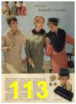 1960 Sears Spring Summer Catalog, Page 113