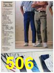 1988 Sears Spring Summer Catalog, Page 506