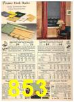 1940 Sears Fall Winter Catalog, Page 853