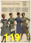 1962 Sears Spring Summer Catalog, Page 119