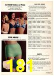 1974 Sears Spring Summer Catalog, Page 181