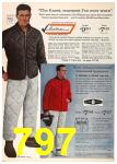 1962 Sears Fall Winter Catalog, Page 797