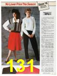 1985 Sears Fall Winter Catalog, Page 131