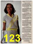 1981 Sears Spring Summer Catalog, Page 123