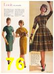 1960 Sears Fall Winter Catalog, Page 76