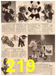 1954 Sears Christmas Book, Page 219