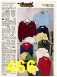 1982 Sears Fall Winter Catalog, Page 466
