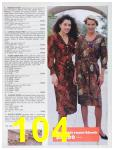 1991 Sears Fall Winter Catalog, Page 104