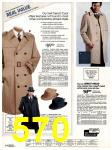 1982 Sears Fall Winter Catalog, Page 570