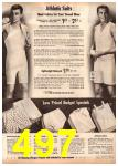 1962 Montgomery Ward Spring Summer Catalog, Page 497