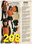 1973 Sears Fall Winter Catalog, Page 208