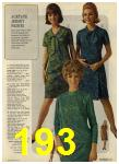 1968 Sears Fall Winter Catalog, Page 193