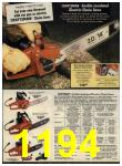 1980 Sears Fall Winter Catalog, Page 1194