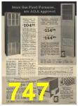 1965 Sears Fall Winter Catalog, Page 747