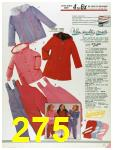 1986 Sears Fall Winter Catalog, Page 275