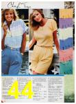 1986 Sears Spring Summer Catalog, Page 44