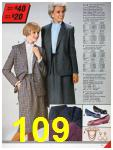 1986 Sears Fall Winter Catalog, Page 109