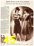 1940 Sears Fall Winter Catalog, Page 45