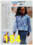 1988 Sears Fall Winter Catalog, Page 184