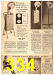 1963 Sears Fall Winter Catalog, Page 334