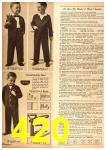 1958 Sears Fall Winter Catalog, Page 420
