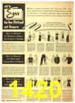 1940 Sears Fall Winter Catalog, Page 1420