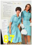 1967 Sears Spring Summer Catalog, Page 87