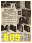 1968 Sears Fall Winter Catalog, Page 509
