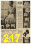 1961 Sears Spring Summer Catalog, Page 217