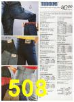1988 Sears Fall Winter Catalog, Page 508