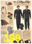 1940 Sears Fall Winter Catalog, Page 399