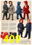 1960 Sears Fall Winter Catalog, Page 409