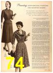 1956 Sears Fall Winter Catalog, Page 74