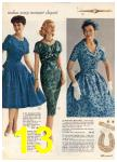 1960 Sears Spring Summer Catalog, Page 13