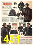 1940 Sears Fall Winter Catalog, Page 431