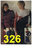 1980 Sears Fall Winter Catalog, Page 326