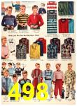 1956 Sears Fall Winter Catalog, Page 498