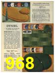 1965 Sears Fall Winter Catalog, Page 968